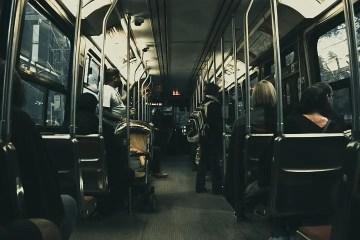 Interior de un autobús