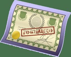 Diploma curso online certificado