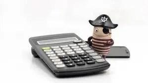 Piratería y economía personal
