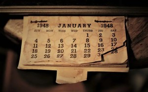 Calendario viejo