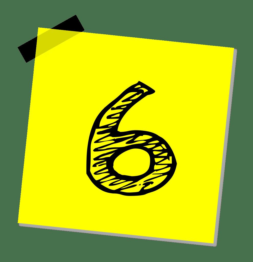 La regla del 6 para medir el tiempo
