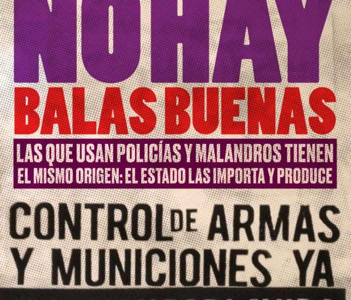 Un grupo de venezolanos exige desarme