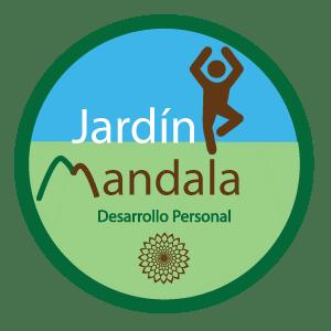 diseño logotipo jardín mandala desarrollo personal