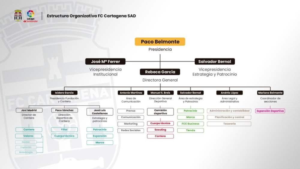 esquema organigrama