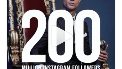 Cristiano Ronaldo becomes the first person to reach 200 million followers on Instagram