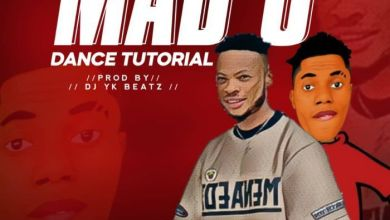 Dj Yk Beatz Ft. Poco Lee - Mad O (Dance Tutorial) Mp3 Audio Download