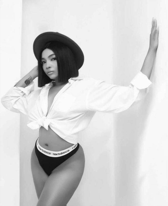 Actress Chelsea Eze shows of her derri?re in sexy birthday photos