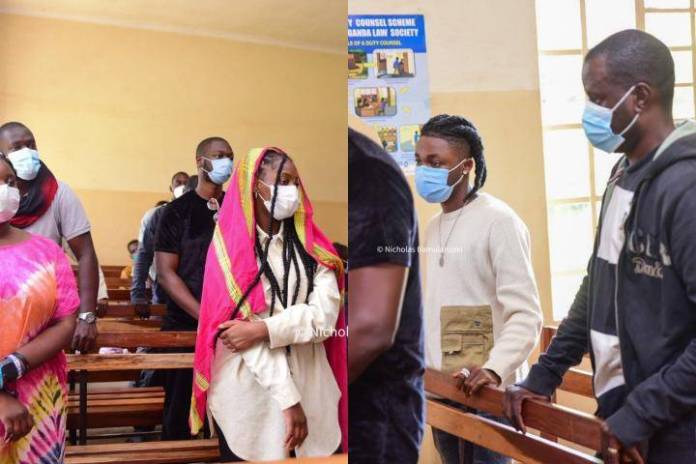 Nigerian Artistes, Omah Lay And Tems In Court To Face Charges In Uganda, Celebrities React (See Photos)