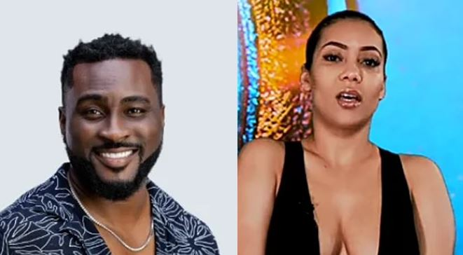 #BBNaija: Try Not To Get A Slap From Me – Maria Warns Pere After He Told Her She's The Only One He's Had A Hard-on For.