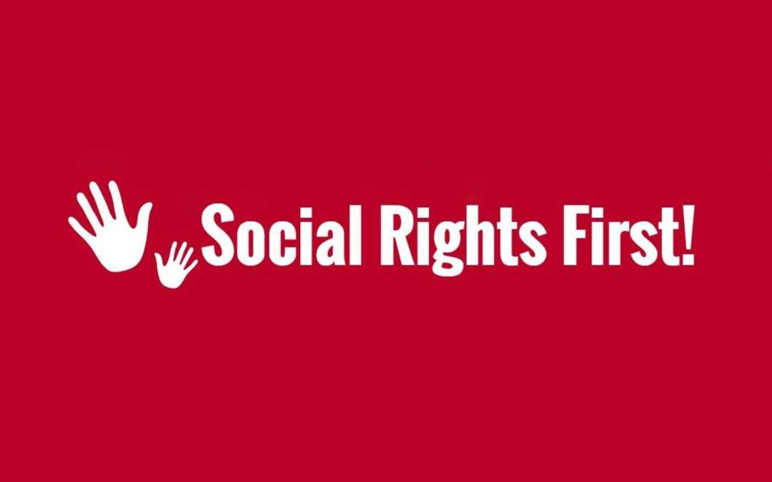 SIGN NOW FOR SOCIAL RIGHTS FIRST! RAISE YOUR VOICE FOR A SOCIAL EUROPE!