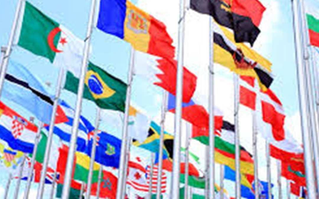 Vidta åtgärder för rapporter från olika länder från multinationella företag för aktiviteter runt om i världen!