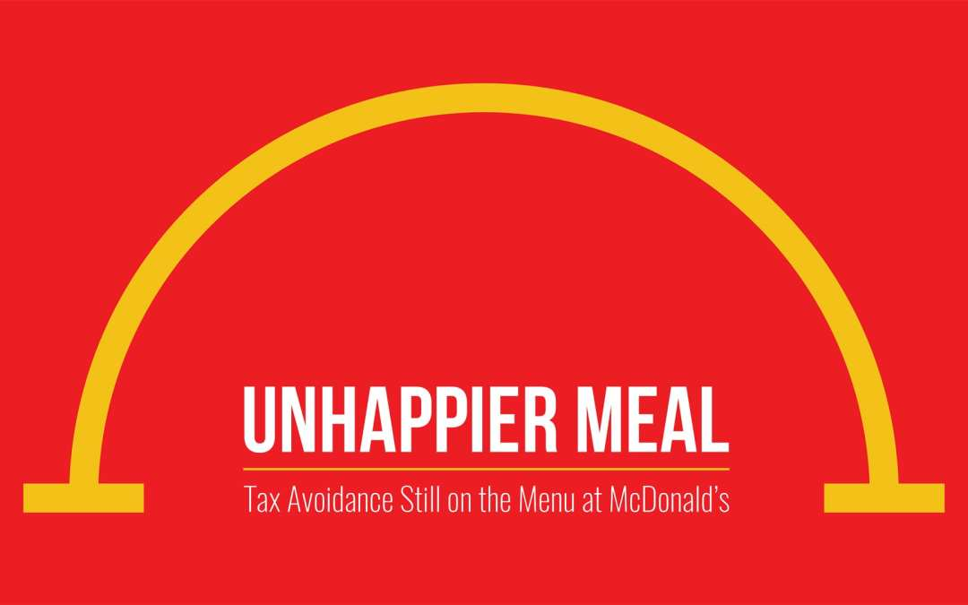 McDonald's new menu: less transparency, more tax havens