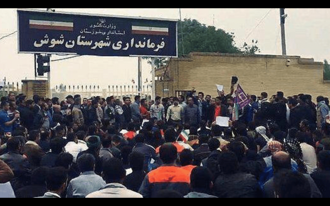 Iran: Unpaid wages, hungry workers, live bullets