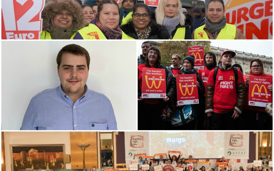 EFFAT and IUF appoint new global fast food coordinator to unite European fast food workers
