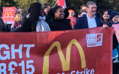 Trade Unions representing tens of millions of workers worldwide file OECD complaint over McDonald's failure to tackle sexual harassment
