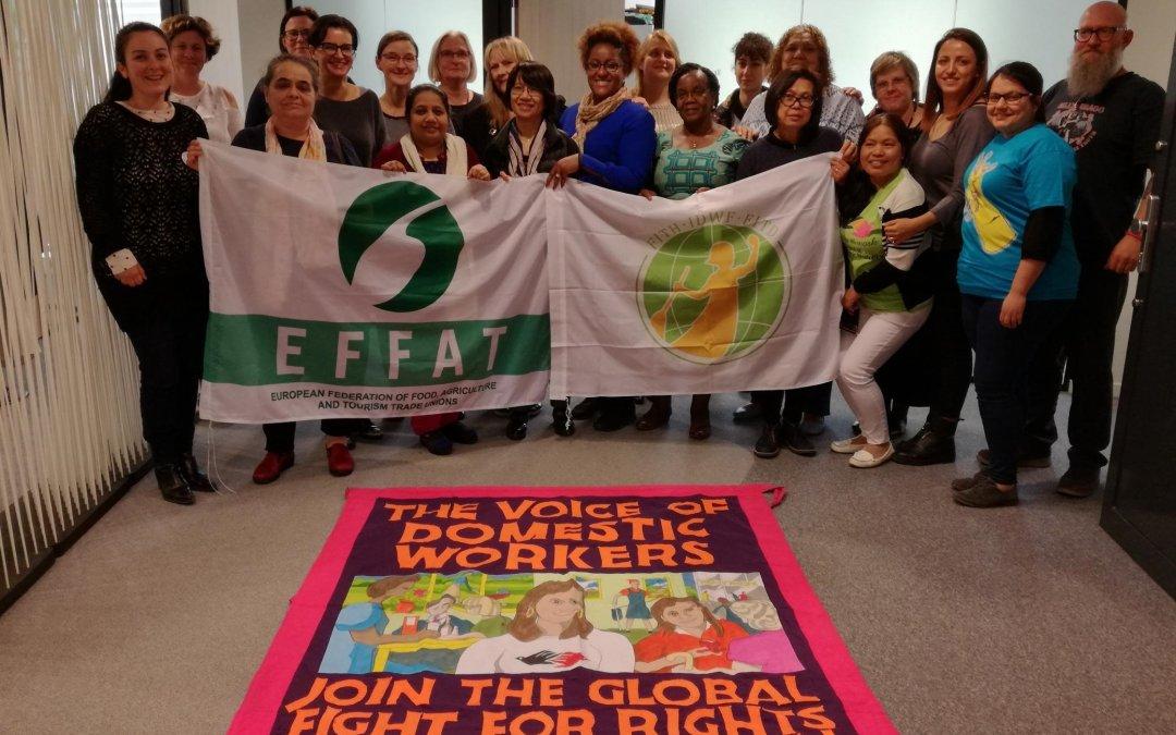 """""""Hausangestellte in Europa: Die Anerkennung erhalten, die sie verdienen"""". Neues EFFAT-Booklet ist da!"""