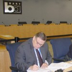 Paul Oversier at the BART Police Department Review (November 11, 2009)