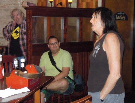 Cynbe Ru Taren, Joey Lopez, Sandy Stone at EFF-Austin