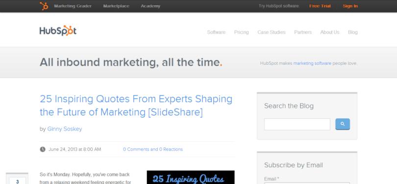 Inbound Marketing Blog   HubSpot