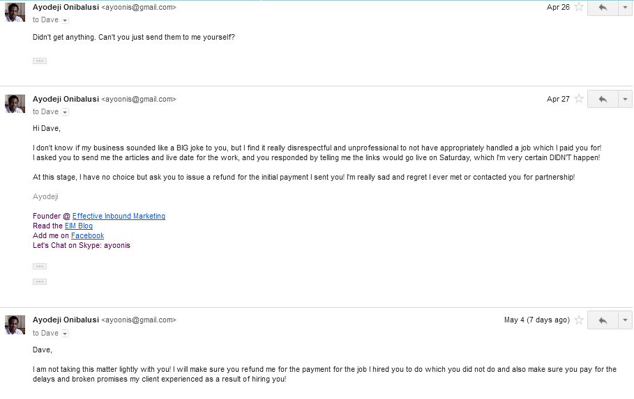 Discussion followed via email 17