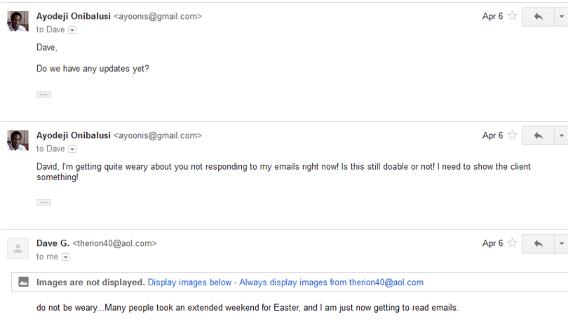 Discussion followed via email 7