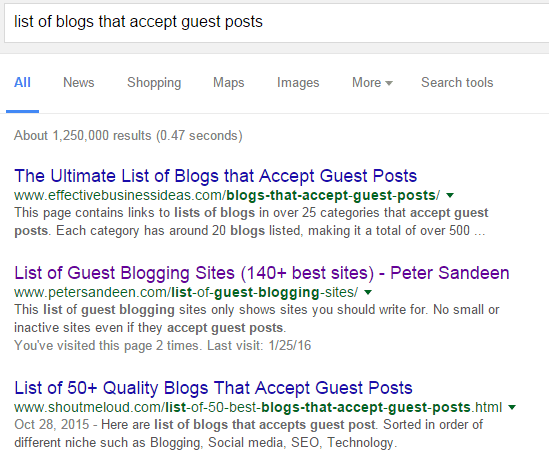 How to Find the Right Blogs for Your Guest Post | Effective Inbound