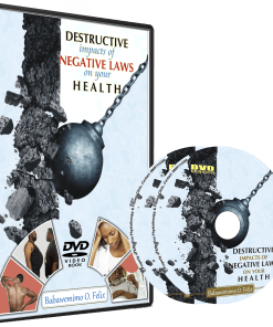 DESTRUCTIVE IMPACT OF NEGATIVE LAWS ON YOUR HEALTH (DVD)
