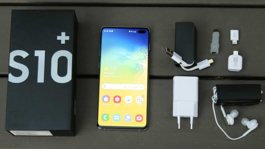 Samsung Galaxy S10 package