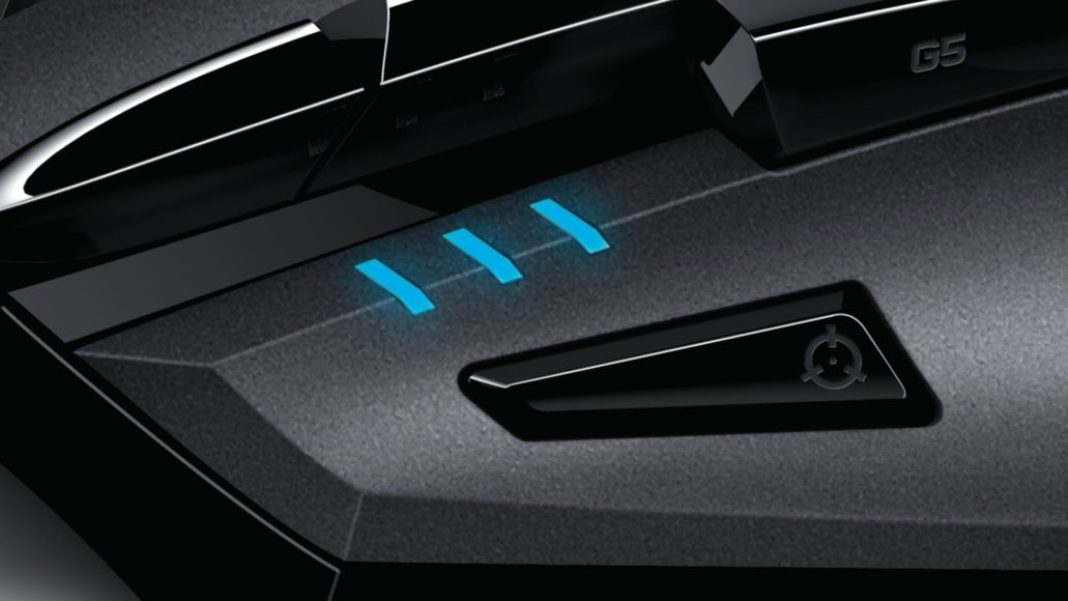 Logitech G402 Hyperion Fury – Programmable keys