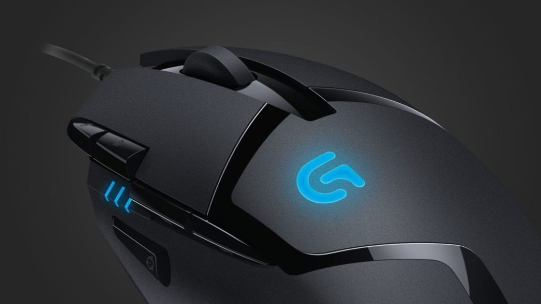 Logitech G402 Hyperion Fury – Weight and size