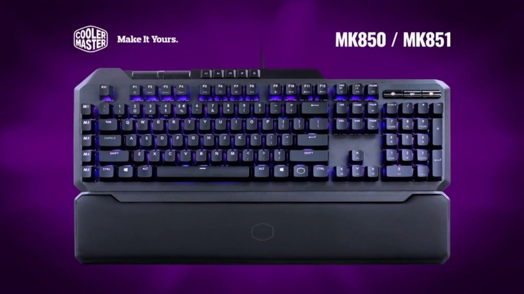 Cooler Master MK850: the gaming keyboard that can replace the gamepad