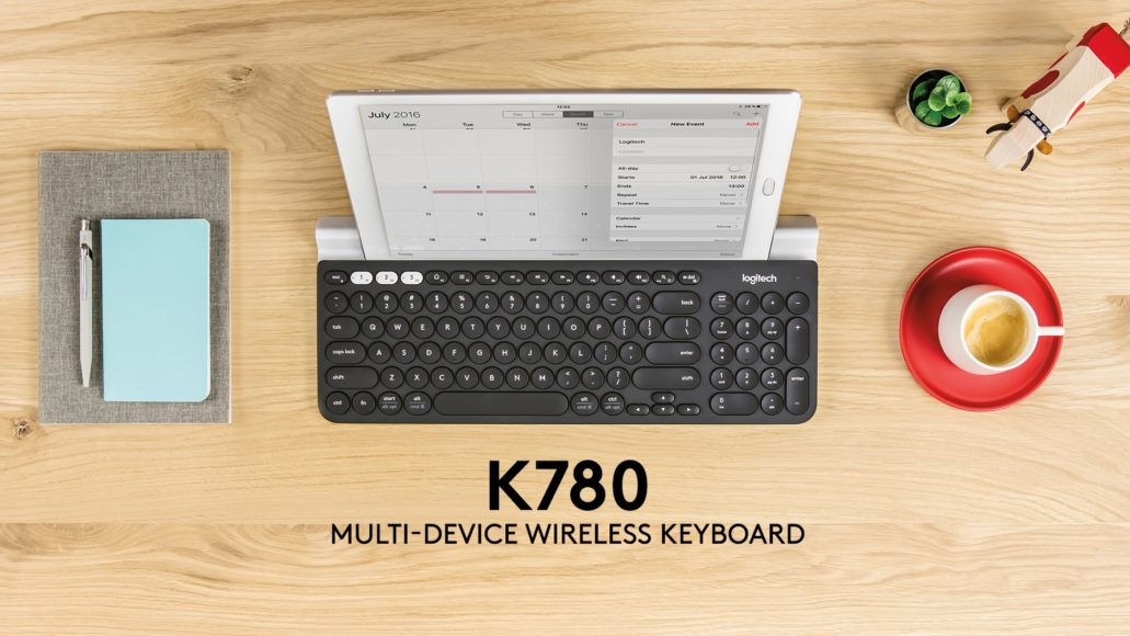 Logitech K780: the most portable