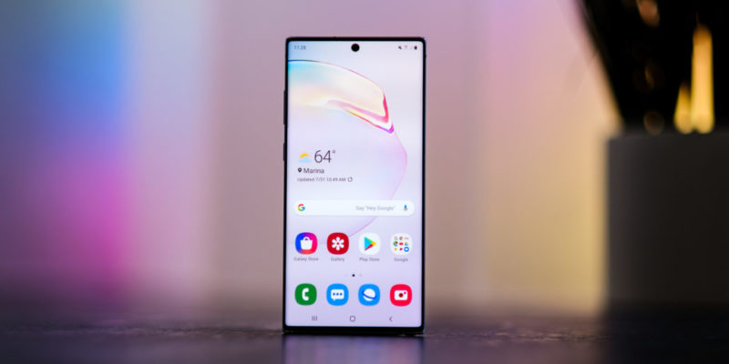 Samsung Galaxy Note 10+: best business camera phone