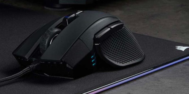 Corsair Ironclaw RGB: best gaming mouse for users with large hands