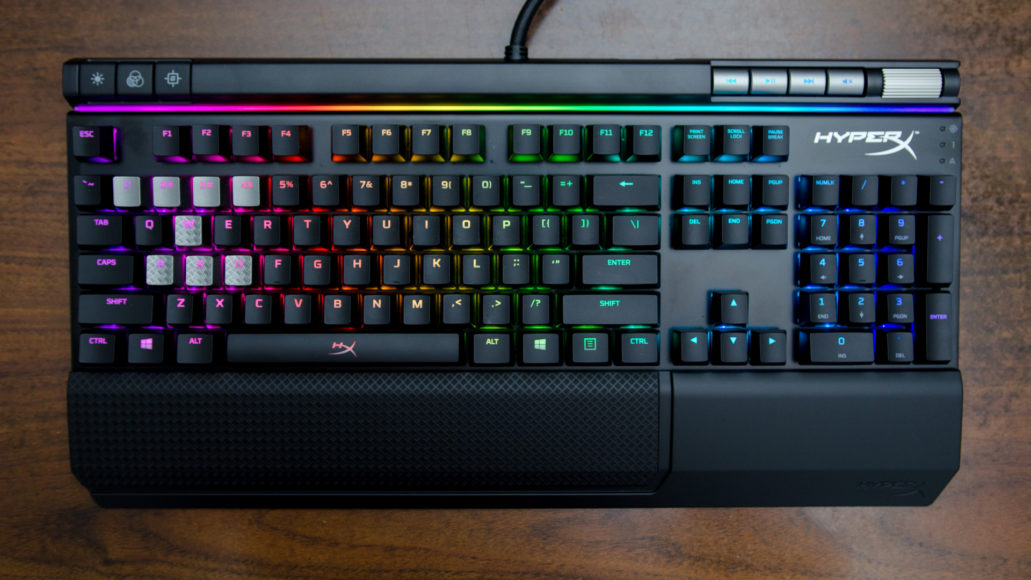 HyperX Alloy Elite RGB: best all-round gaming keyboard