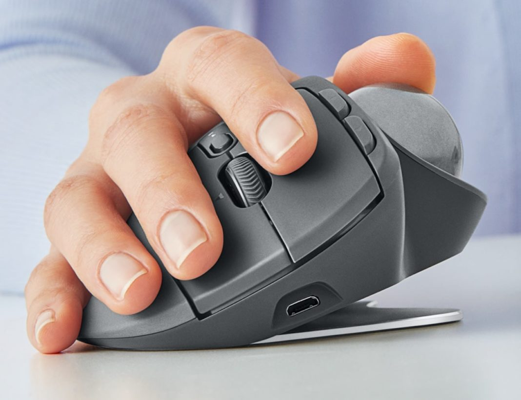 Logitech MX Ergo: the most ergonomic mouse