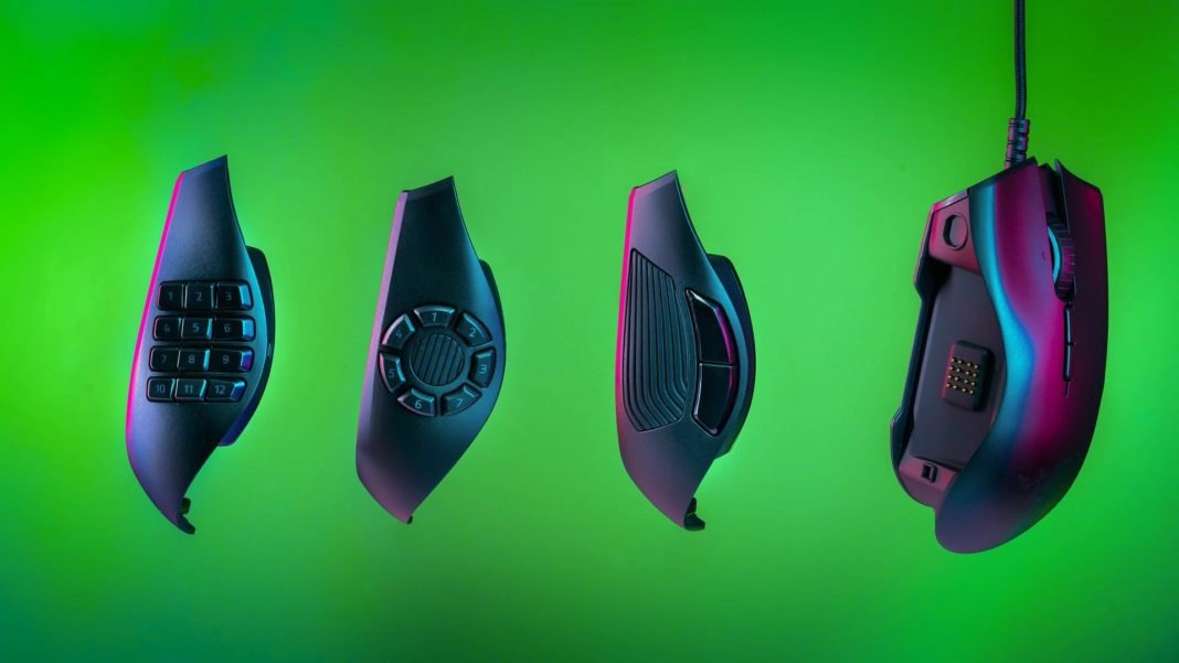 Razer Naga Trinity: best gaming mouse for MOBA and MMO