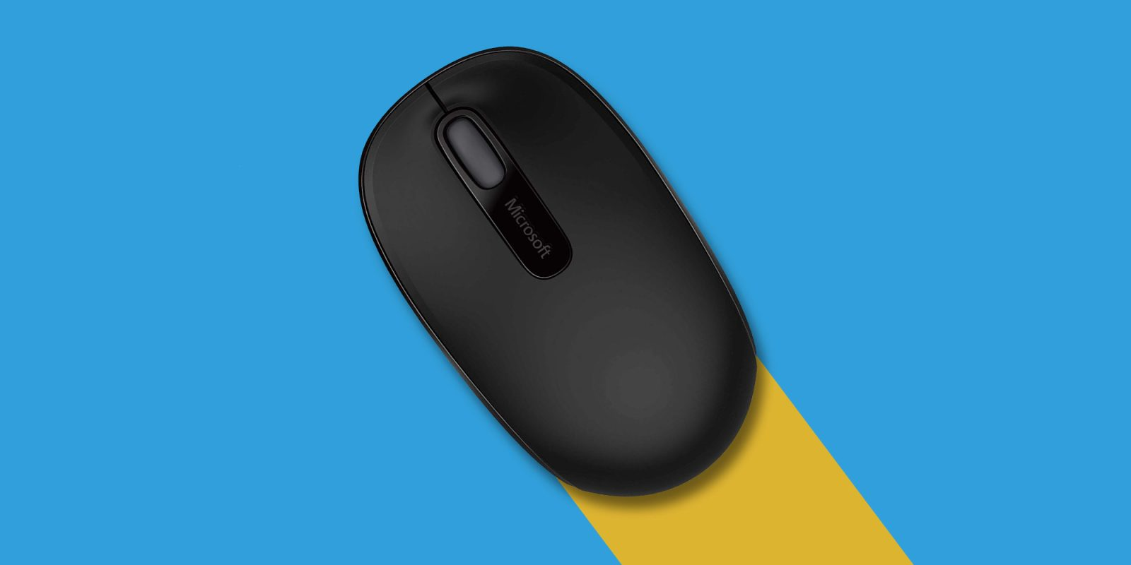 Microsoft Wireless Mobile Mouse 1850: the most affordable wireless mouse