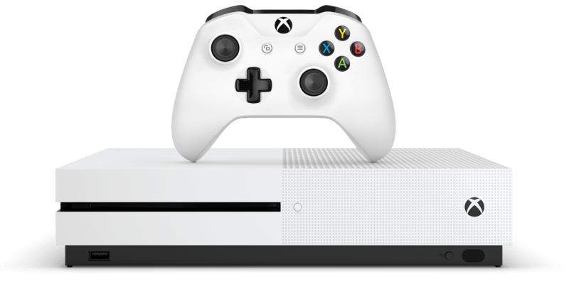 Microsoft Xbox One S: a game console that's also an excellent Blu-ray player
