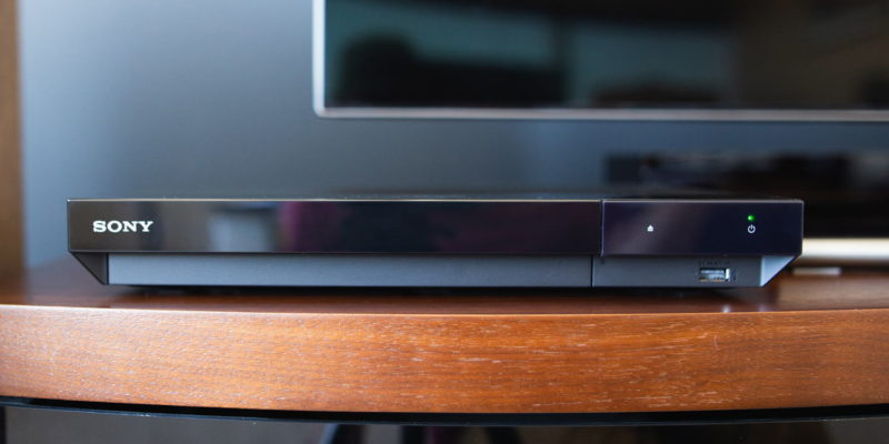 Sony UBP-X700: best Blu-ray player for most users