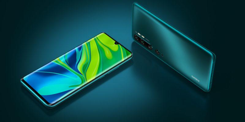 Xiaomi Mi Note 10 – Design