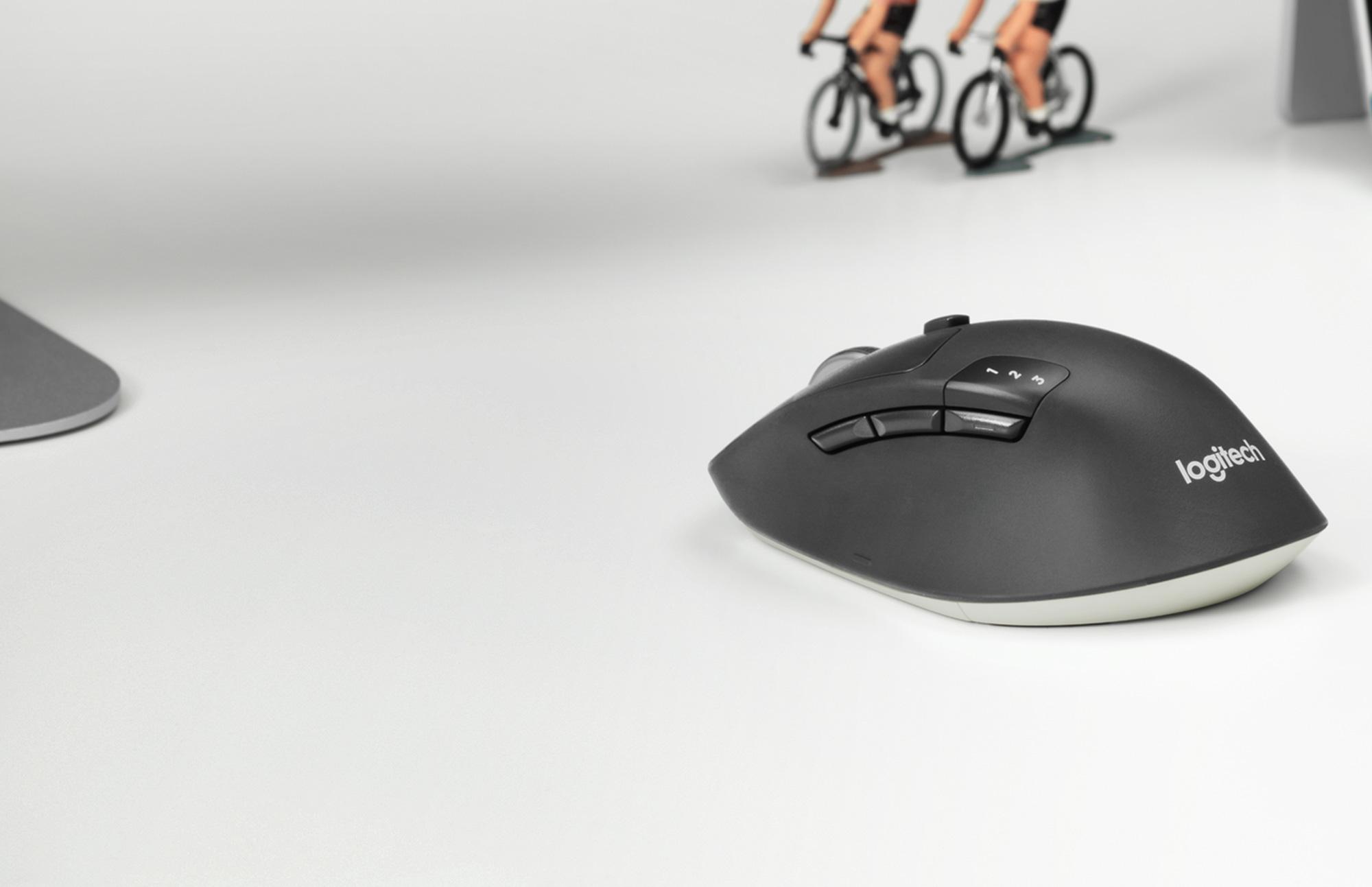 Logitech M720 Triathlon: best wireless mouse for most people
