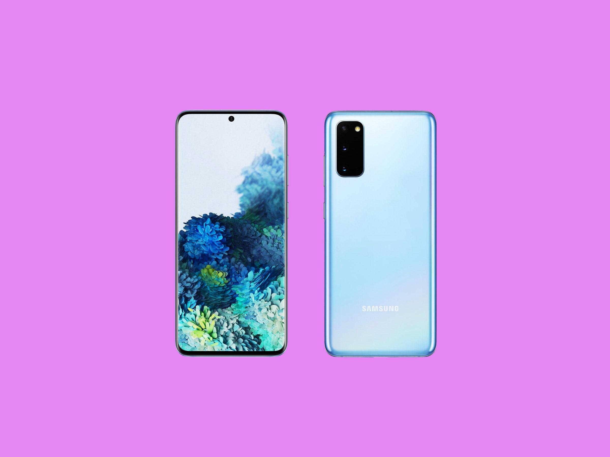 Samsung Galaxy S20 – Design