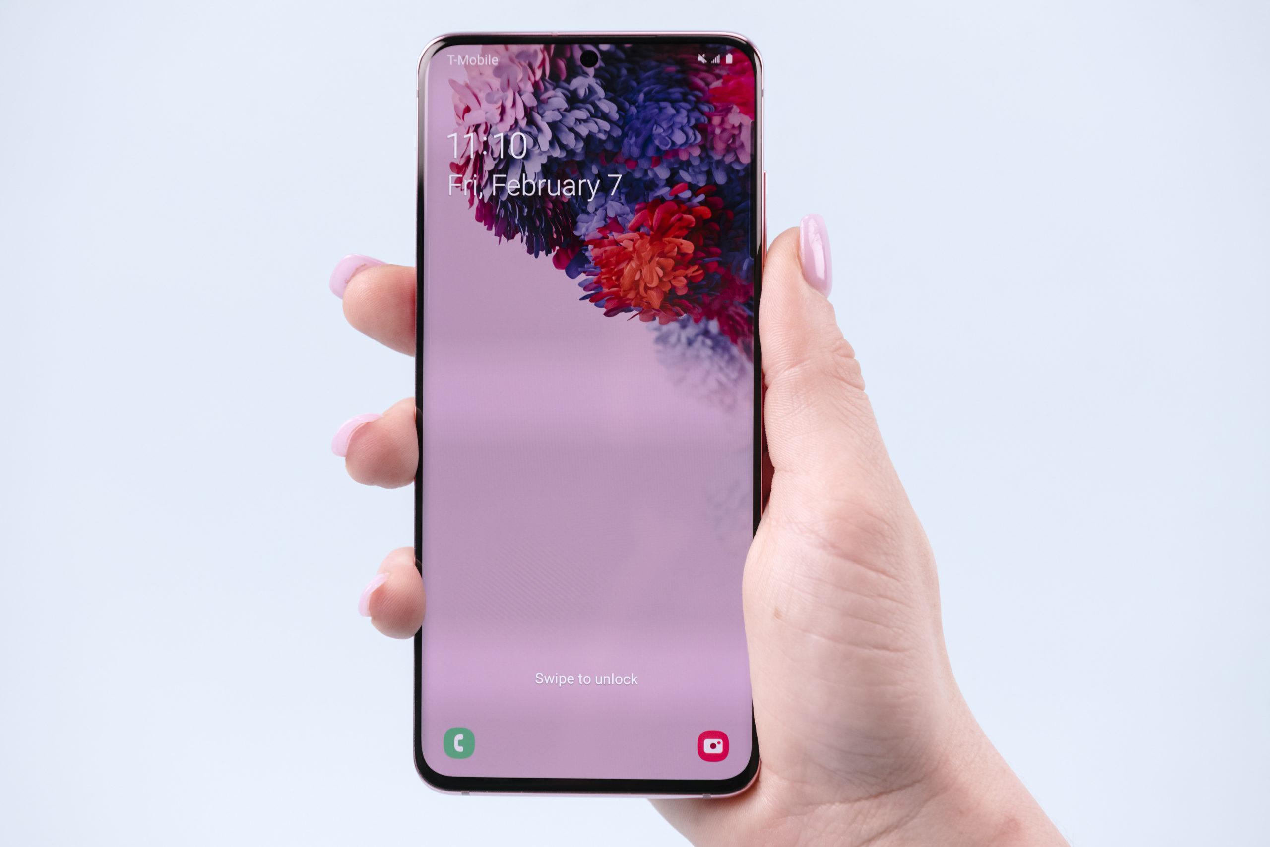 Samsung Galaxy S20 – Display