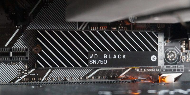 WD Black SN750: Best NVMe gaming SSD