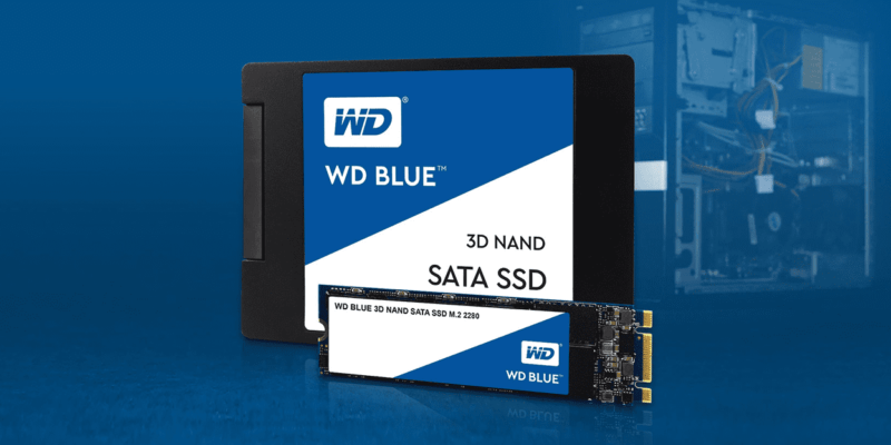 WD Blue 3D NAND: the cheapest SATA SSD