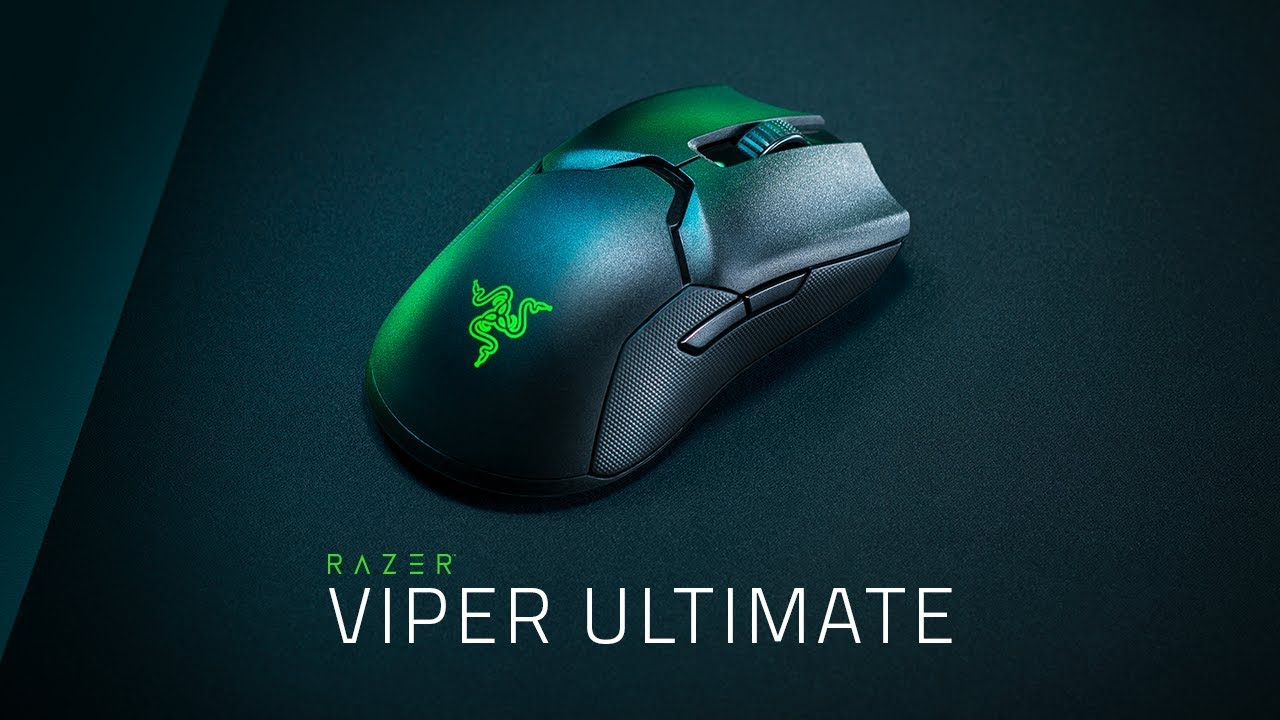 Razer Viper Ultimate: best wireless gaming mouse