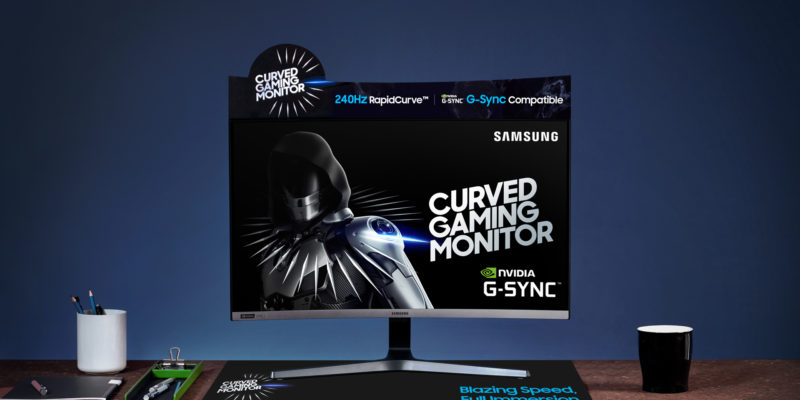 Samsung CRG5 27-inch: best budget gaming monitor