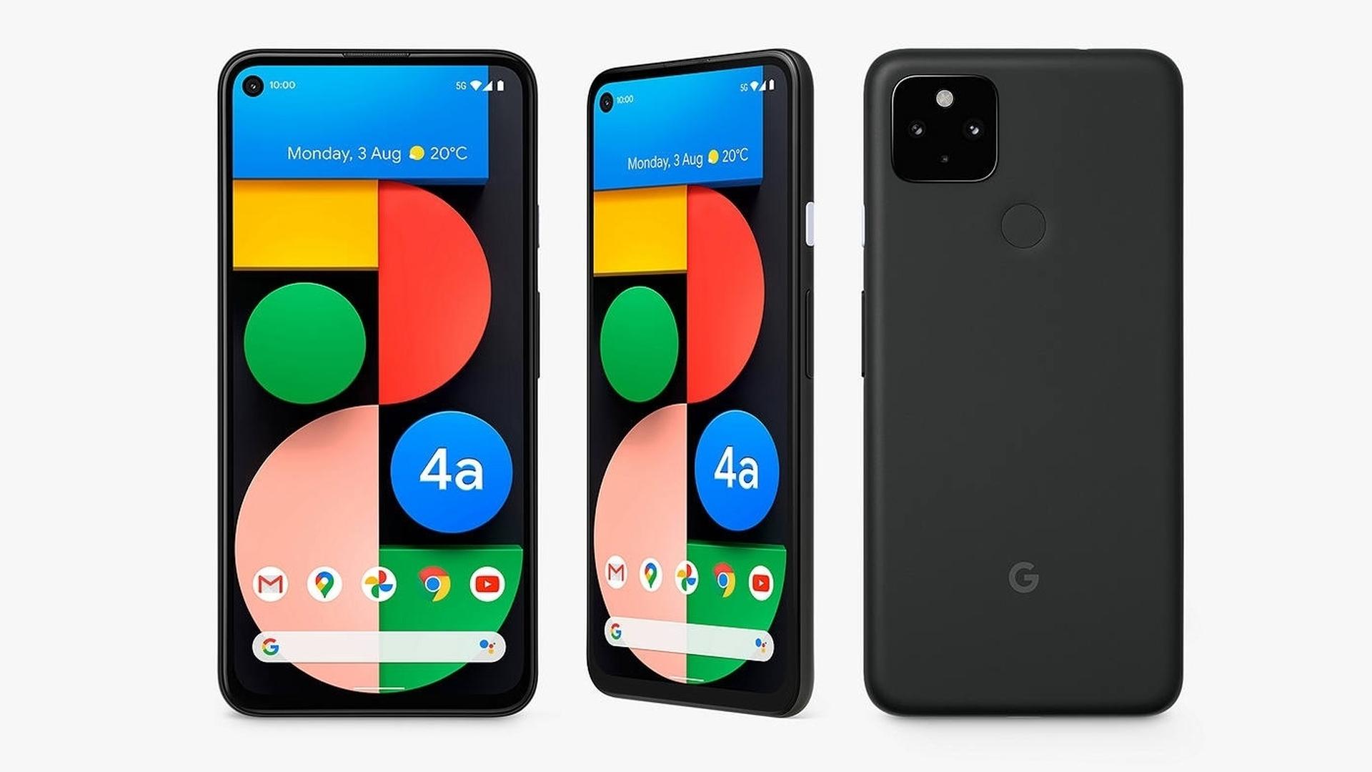 Google Pixel 4a 5G best cheap 5G phone