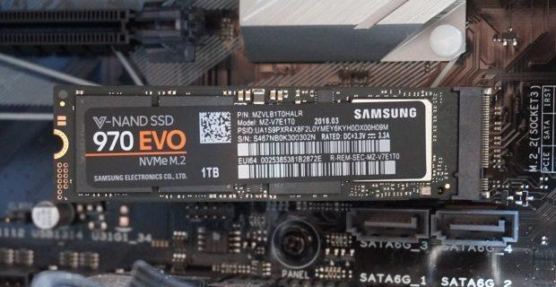 Miglior SSD per velocità Samsung 970 Evo